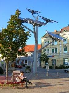Photovoltaic 'Tree' in Styria, Austria
